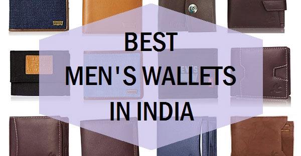 Men's Wallets Brands in India
