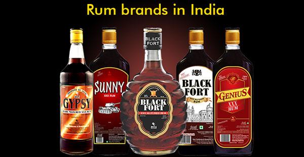 Rum Brands in India