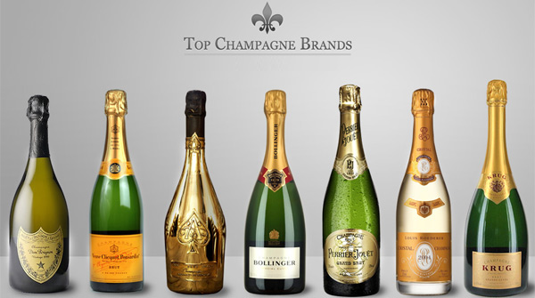 Champagne Brands In India
